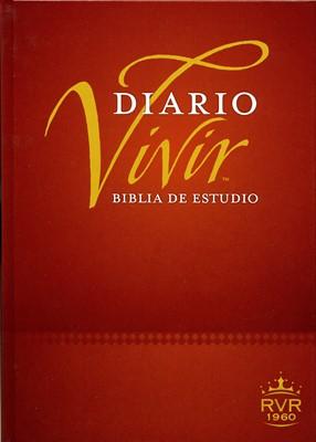 Biblia de Estudio Diario Vivir (Tapa Dura) [Biblia]