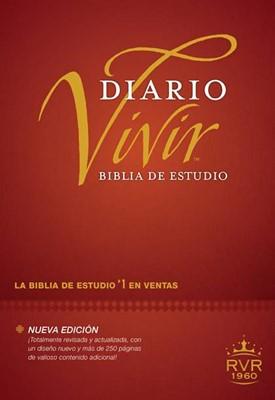 Biblia de Estudio Diario Vivir con Índice (Tapa Dura) [Biblia]