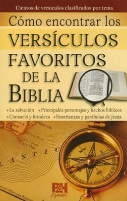 Como Encontrar Versículos Favoritos [Folleto]