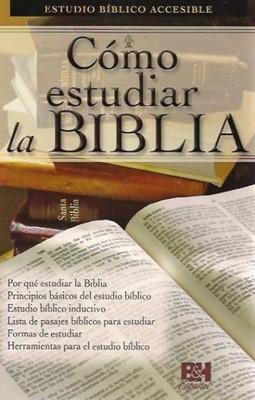 Como Estudiar la Biblia [Folleto]