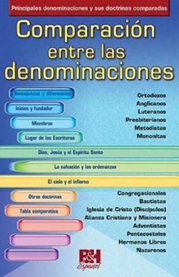 Comparación Entre las Denominaciones [Folleto]
