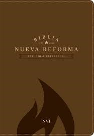 Biblia de Estudio Nueva Reforma Piel Marrón (Tapa Suave) [Biblia]