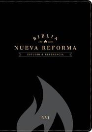Biblia de Estudio Nueva Reforma Piel Negro (Tapa Suave) [Biblia]