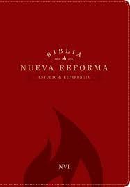Biblia de Estudio Nueva Reforma Piel Rojo (Tapa Suave) [Biblia]
