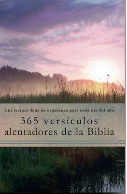 365 Versículos Alentadores de la Biblia (Tapa Rústica) [Libro]