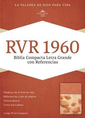 Biblia Letra Grande Compacta Damasco Coral (Tapa Suave) [Biblia]
