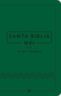 Biblia NVI 060 Letra Grande Verde