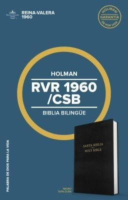 Biblia Bilingüe RVR60/CSB Tapa Dura