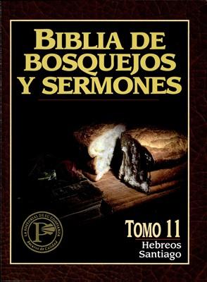Biblia de Bosquejos y Sermones NT 11 Hebreos y Santiago (Tapa Rústica)