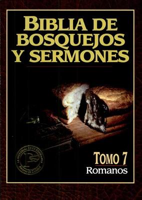 Biblia de Bosquejos y Sermones NT 7 Romanos (Tapa Rústica)