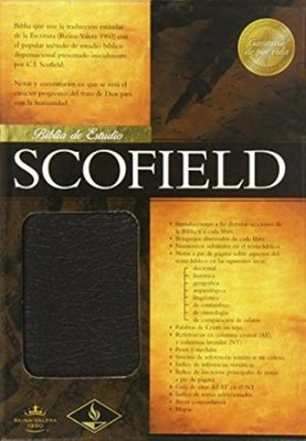 Biblia de Estudio Scofield Piel Negro (Tapa Suave)