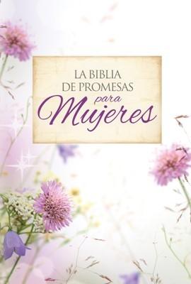 Biblia de Promesas con cierre Floral (Tapa Suave)