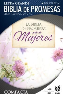 Biblia de Promesas Compacta Cierre Floral (Tapa Suave)