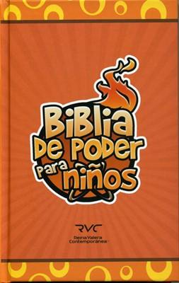 Biblia de Poder Para Niños (Tapa Dura) [Biblia]