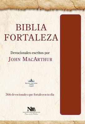 Biblia Devocional Fortaleza Marrón (Tapa Suave)