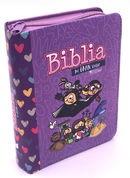 Biblia Mi Gran Viaje Cierre Lila