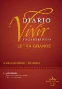 Biblia Diario Vivir RVR Letra Grande (Tapa Dura)