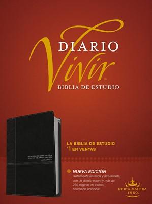 Biblia Diario Vivir RVR Letra Grande Negro Onice (Tapa Suave)