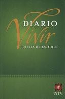Biblia NTV de Estudio Diario Vivir Tapa Rustica (Tapa Rústica)