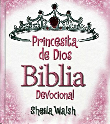 Princesita de Dios Biblia Devocional (Tapa Dura)
