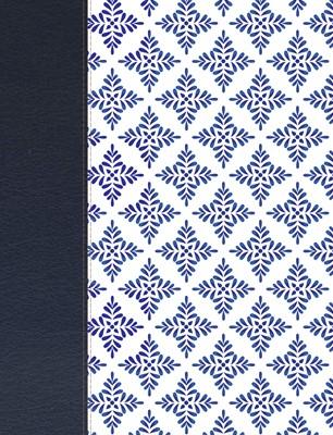 Biblia de Apuntes NVI - Simil piel Blanco y Azul (Tapa Dura)
