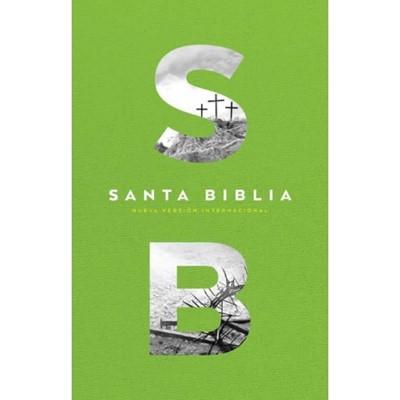 Biblia NVI Económica Verde (Tapa Rustica)