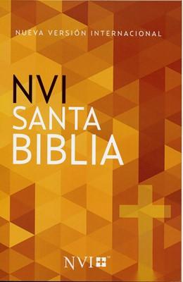 Biblia NVI Económica Cruz (Tapa Rustica)