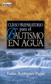 Curso Preparativo Para el Bautismo en Aguas (Tapa Bolsillo)