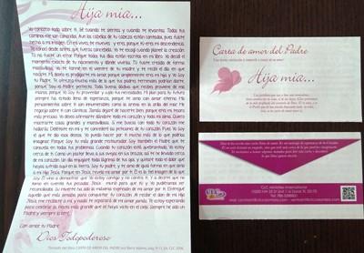 Folleto Carta de Amor del Padre (x 100 unidades) Mujeres
