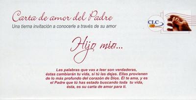 Carta del Amor del Padre x100 Unid (Hombres) (Rustica)