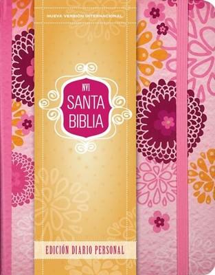 Biblia NVI Diario Personal Rosa (Tapa Dura)
