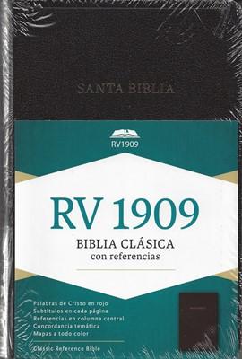 Biblia RV1909 Imitación Piel Negro (Tapa Suave)
