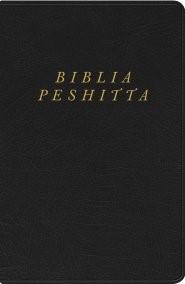 Biblia Peshitta Imitación Piel Negro (Tapa Rustica)