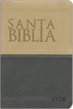 Biblia NVI Compacta Dos Tonos (Tapa Suave)