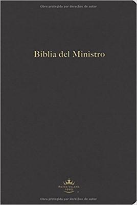 Biblia Del Ministro Reina Valera 1960 Imitación Piel Negro (Tapa Suave)