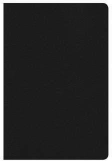 Biblia de Estudio Arco Iris Imitación Piel Negro (Tapa Suave)