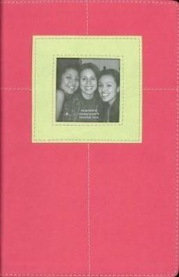 Biblia NVI G3 Piel Italiana 2 Tonos Rosa Verde (Tapa Suave)