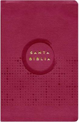 Biblia NVI Ultrafina Vino Cuero Italiano (Tapa Suave)