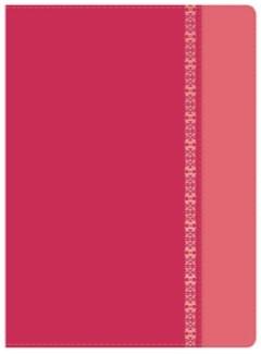Biblia de Estudio Holman, fucsia/rosado (Tapa Suave)