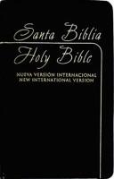 Biblia bilingüe NVI / NIV Imitación Piel Negro (Tapa Suave)