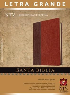 Biblia NTV UltraFina Letra Grande Cafe (Tapa Suave)