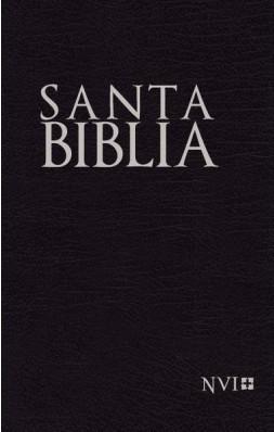 Biblia NVI Compacta Imitación Piel Negro (Tapa Suave)