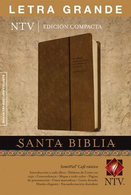 Biblia NTV Compacta Letra Grande Cafe (Tapa Suave)