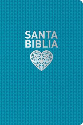 Biblia NTV Letra Grande Simil Piel Azul (Tapa Suave)