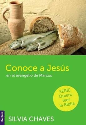 Conoce a Jesús en el Evangelio de Marcos (Tapa Rustica)