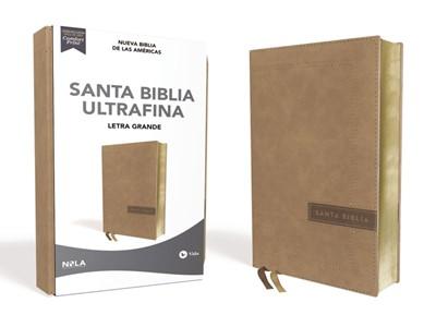 Biblia Nueva Biblia de las Américas Letra Grande (Tapa Suave)