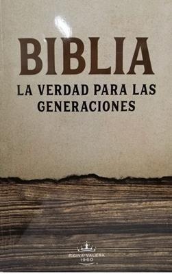 Biblia Verdad para las Generaciones RVR60 Letra Grande  Marron (Tapa Rustica)