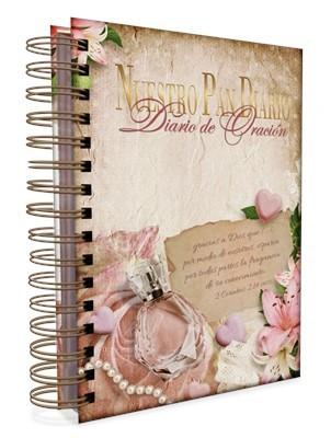 Diario de Oración Nuestro Pan Diario Fragancia (Tapa Dura Anillado)