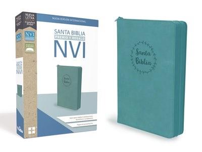 Biblia NVI Premios y Regalos con Cierre Aqua (Tapa Suave)