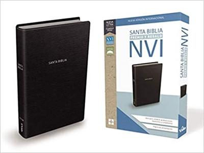 Biblia NVI Premios y Regalo Imitación Piel Negro (Tapa Suave)